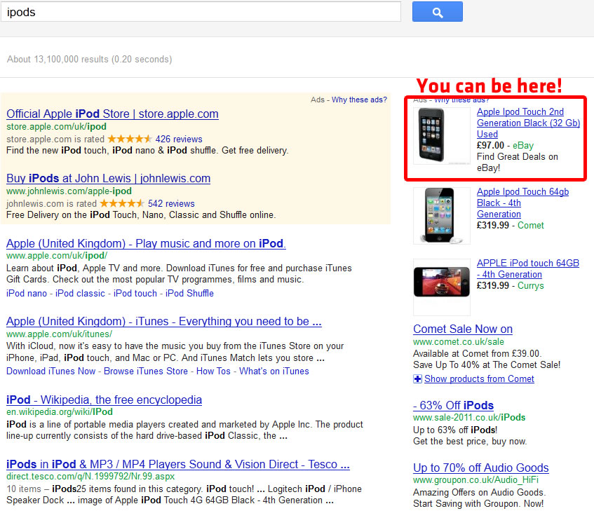 ipod-google-adwords-example